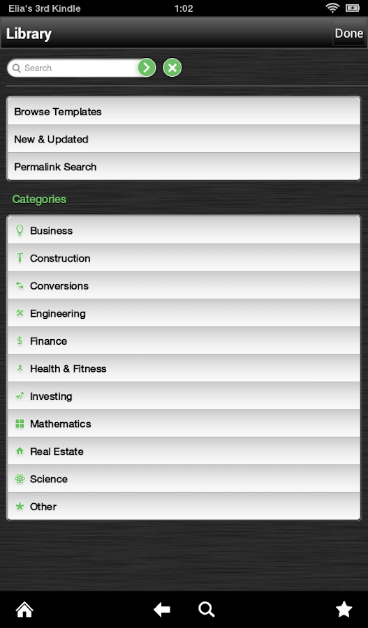 powerOne Scientific Calculator - screenshot