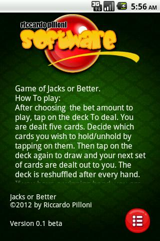 Jacks or Better [Free] - screenshot