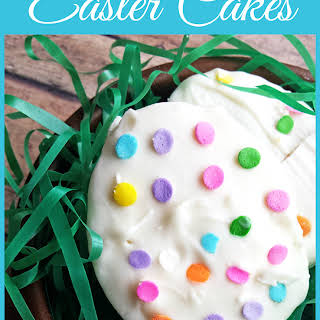 Homemade Easter Cakes.