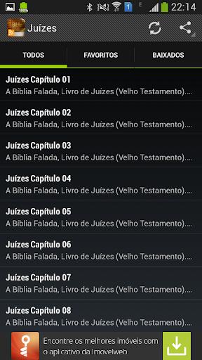 Juízes Bíblia Falada Áudio