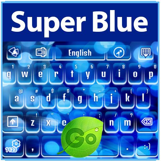 娱乐のGOキーボードスーパーブルー LOGO-記事Game