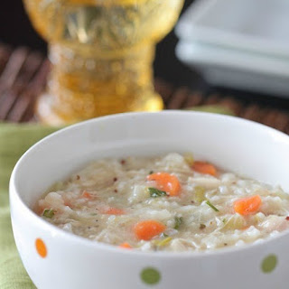 Classic Chicken and Rice Soup.
