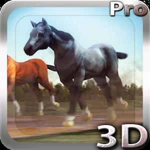 Horses 3D Live Wallpaper 個人化 App LOGO-APP試玩