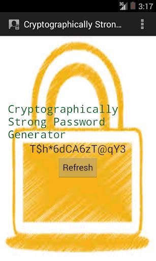 強力なパスワードジェネレータ