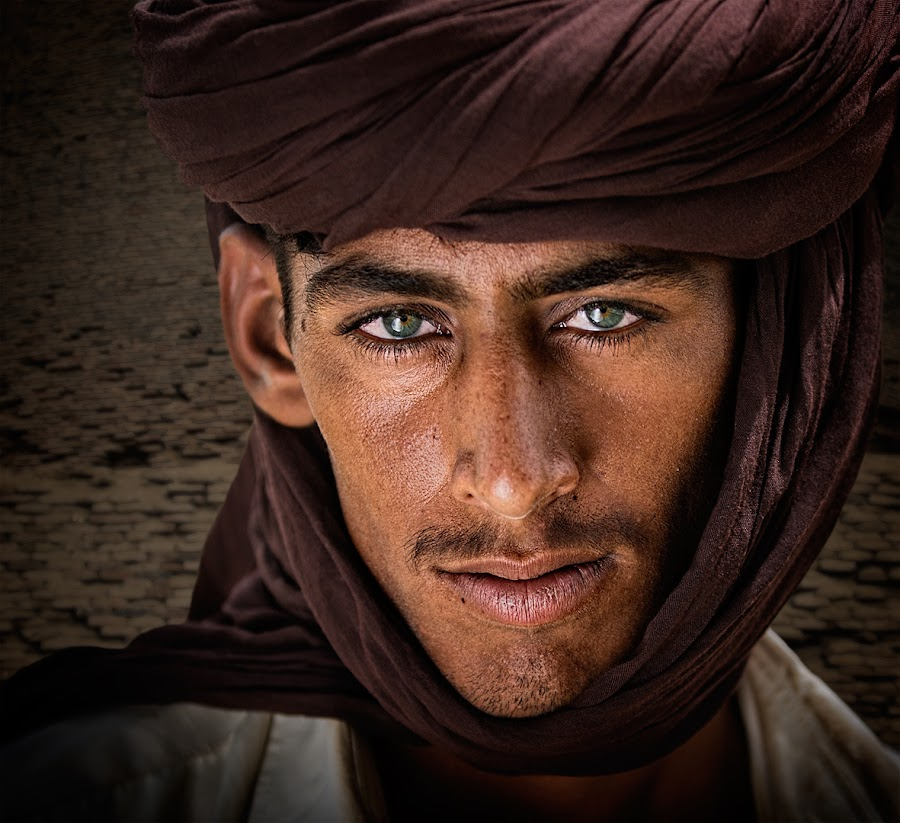 Boy In The Desert by Nayyer Reza - People Portraits of Men ( pakistan, desert, village, color, nayyer, boy, nayyer reza, reza )