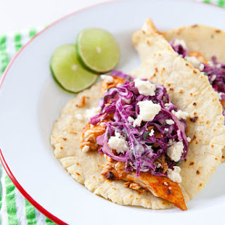Guajillo Fish Tacos