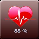 finger print heart beat meter