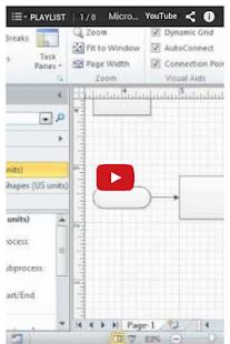玩程式庫與試用程式App Office Visio Tutorial免費 APP試玩