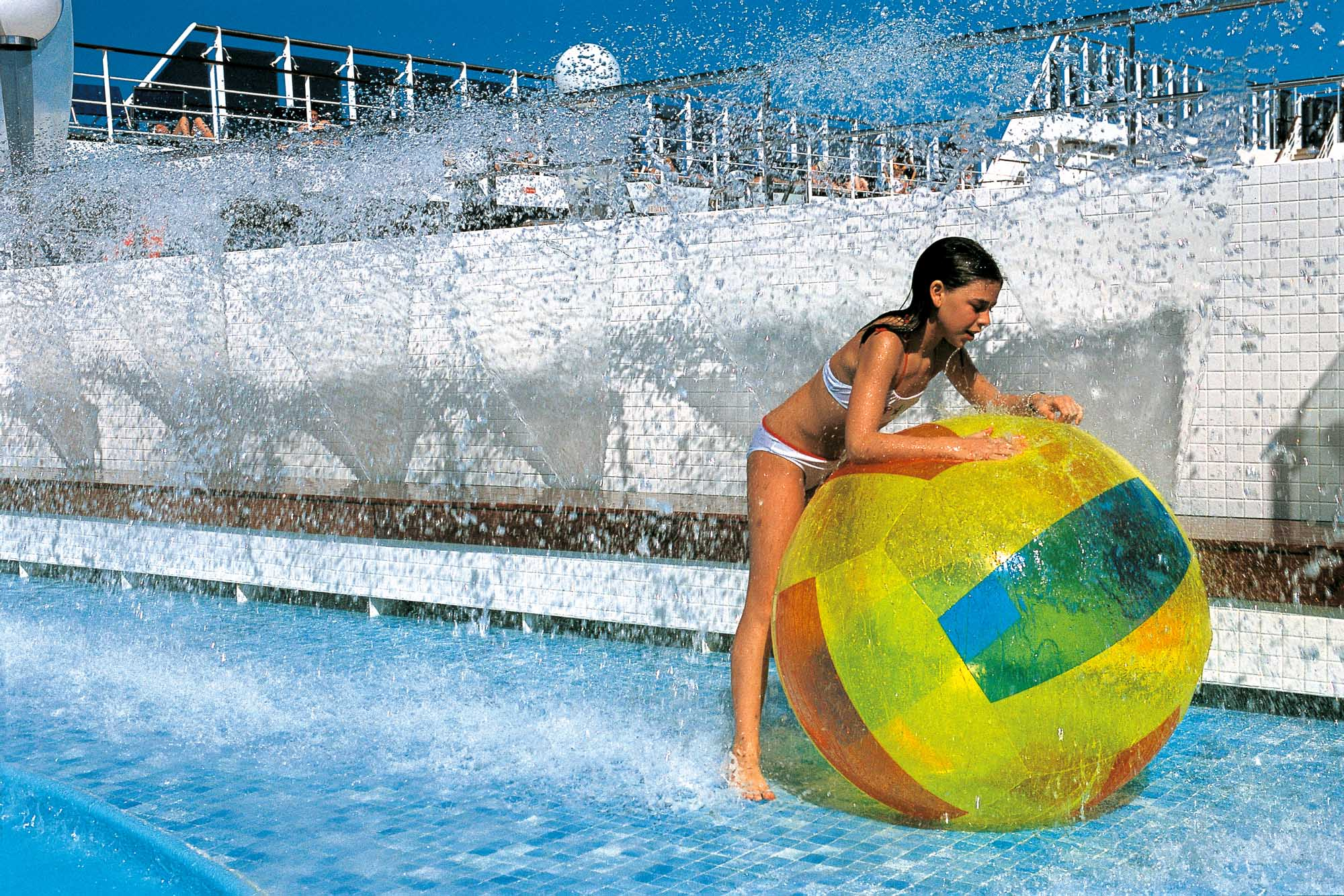 MSC cruise ships are family friendly, with pools and entertainment areas dedicated to children and teens.