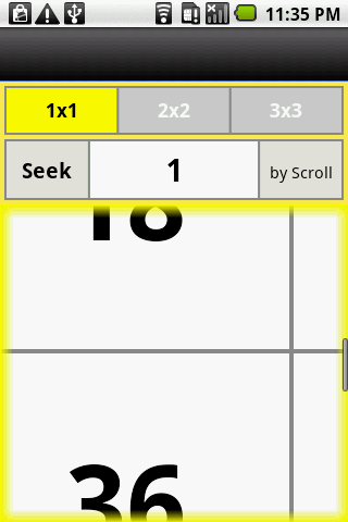 Seek by Scroll- screenshot