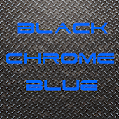 BLACKCHROME BLUE
