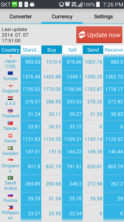 Currency Converter (NEW) - screenshot