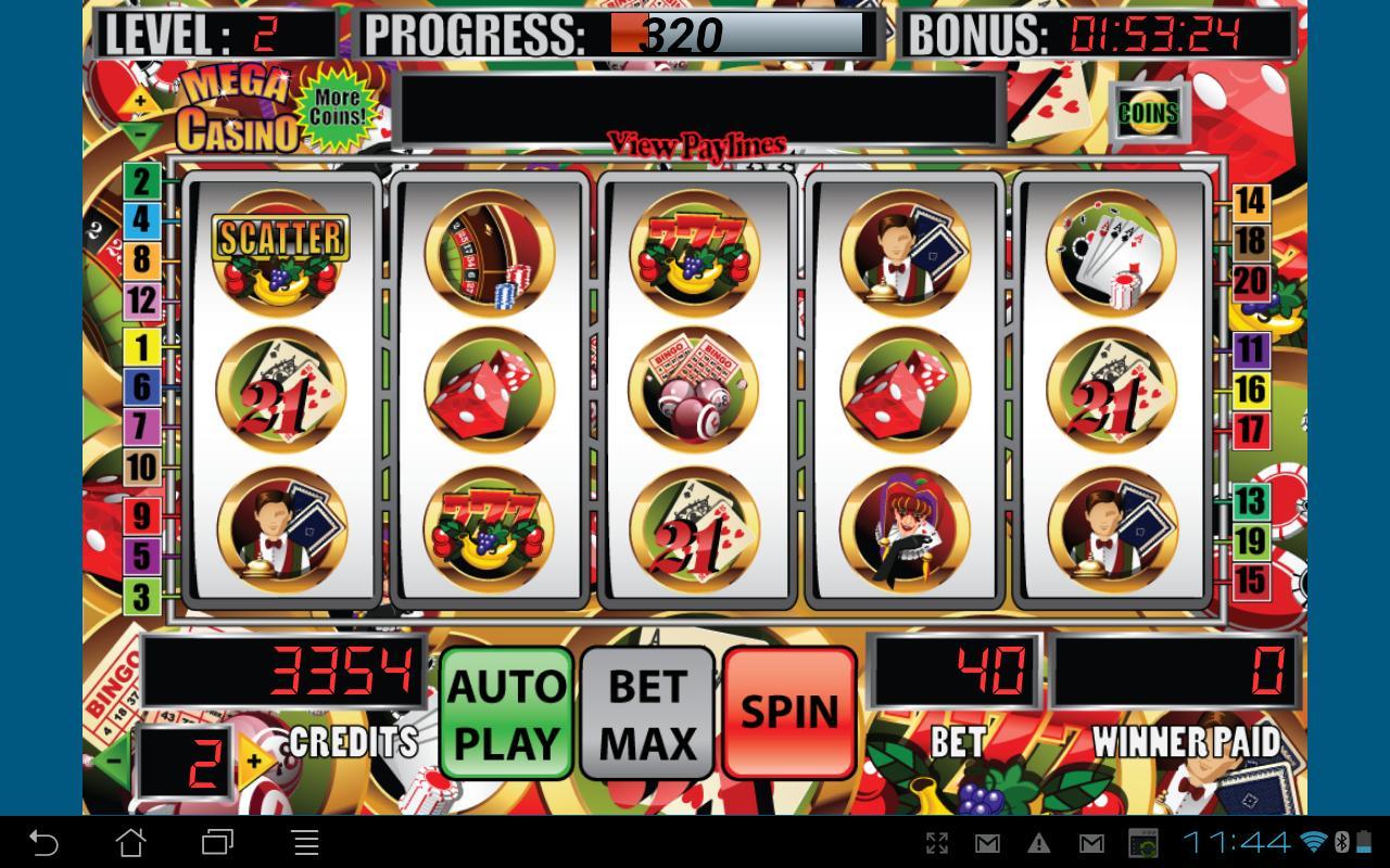 7 mega slot casino games
