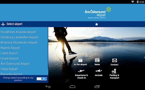 Swedavia Swedish Airports - screenshot thumbnail