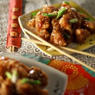 Sesame Ginger Chicken.