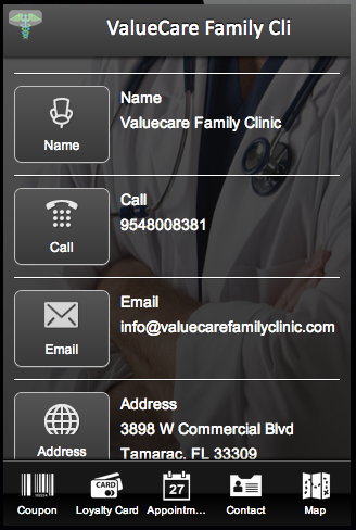 ValueCare Family Clinic- screenshot