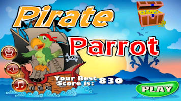 Screenshot of Pirate Parrot. Free Kids Game