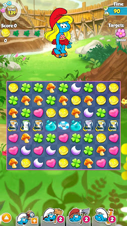 Smurfette's Magic Match 1.3.0 screenshot 58655
