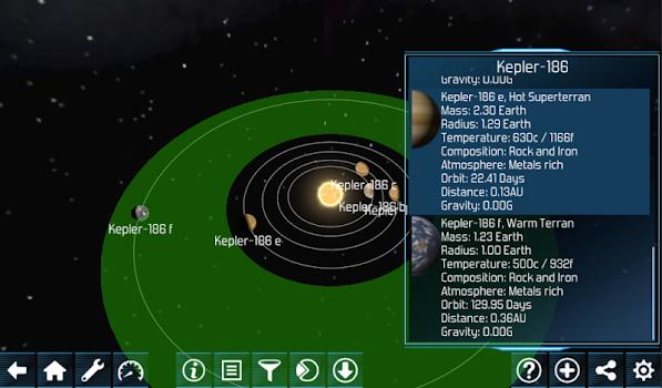 Exo planets Explorer 3D HD