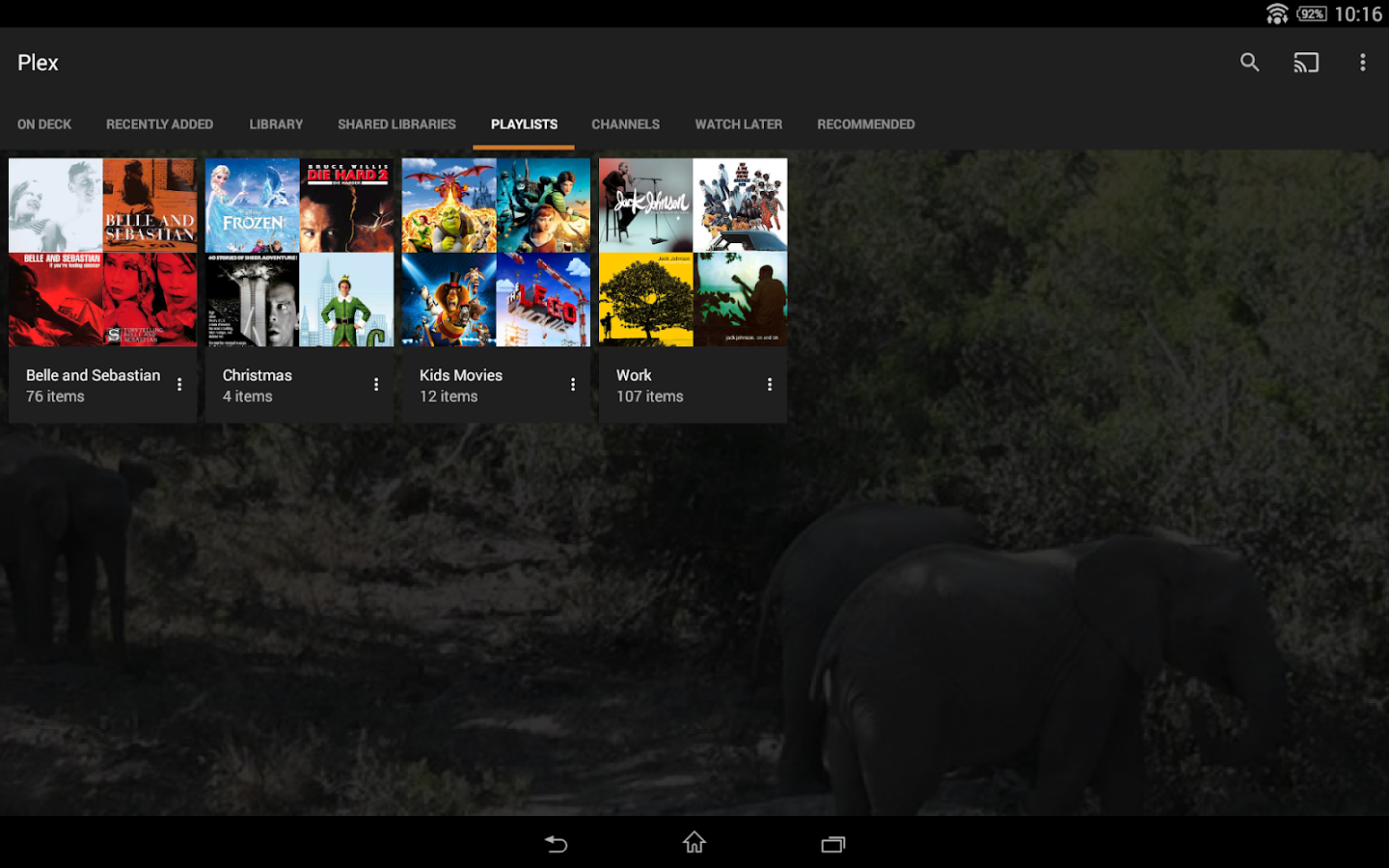 Plex for Android - screenshot