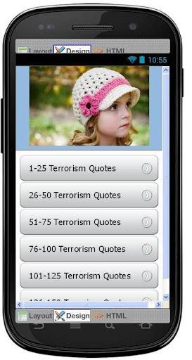 Best Terrorism Quotes