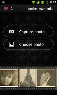 Vintage Photofram.es - screenshot thumbnail
