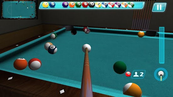實 球 水池 台球: Pool Billiards 3D