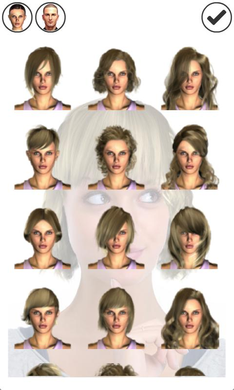 Awe Inspiring Magic Mirror Demo Hair Styler Android Apps On Google Play Short Hairstyles Gunalazisus