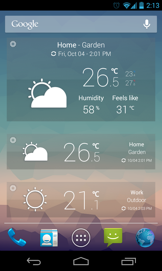 netatmo weather app android su google play. Black Bedroom Furniture Sets. Home Design Ideas