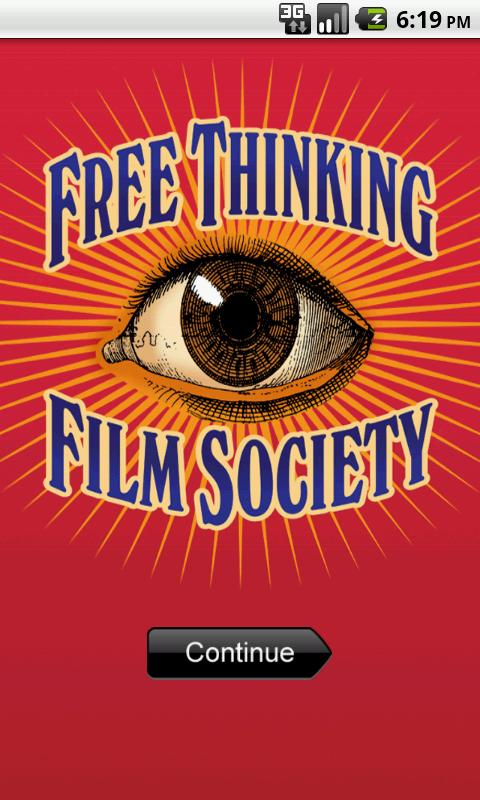 Free Thinking Film Society- screenshot