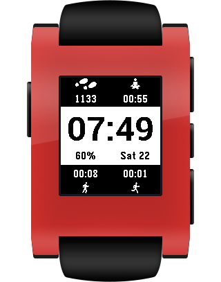 On11 for Pebble- screenshot