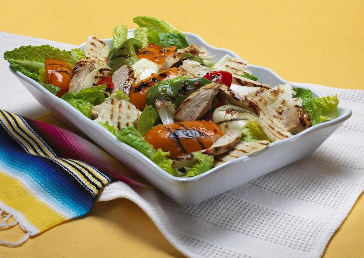 Fajita Chicken Salad Recipe