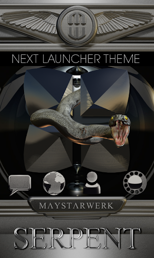 Next Launcher Theme Serpent