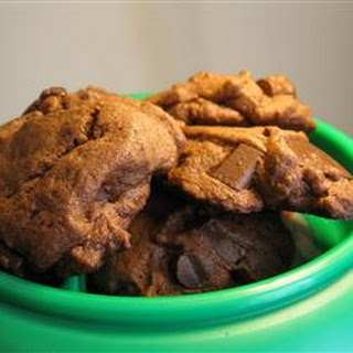Thick Mint Chocolate Chip Cookies