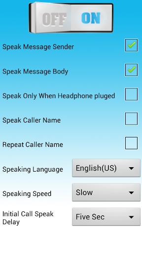 Caller Name SMS Text Reader