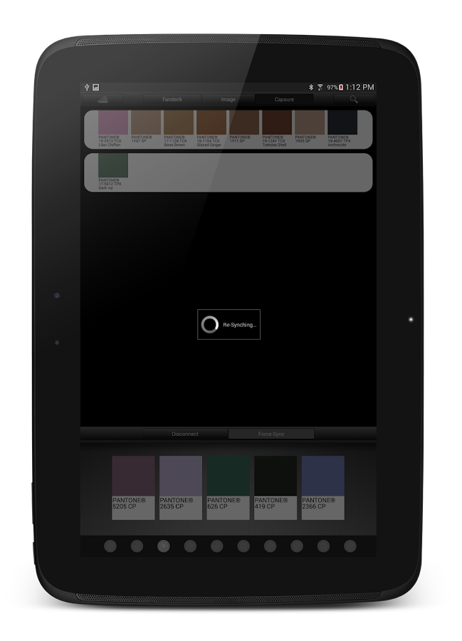 myPantone- screenshot