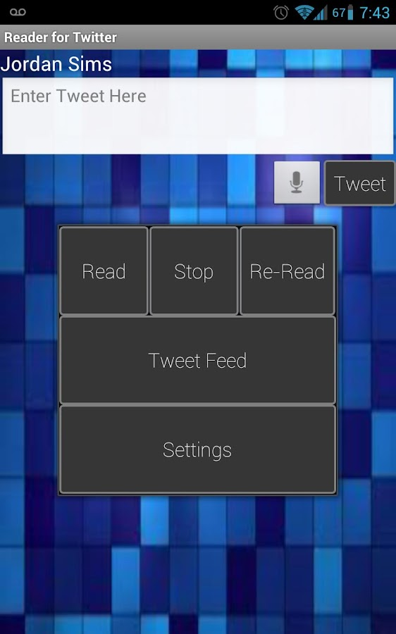Reader for Twitter- screenshot