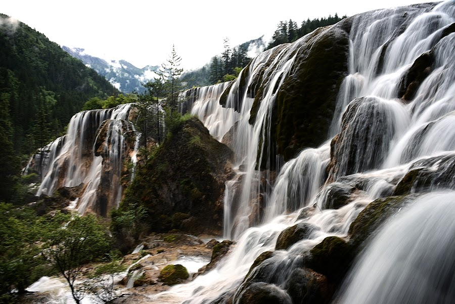 Jiuzhaigou Valley National Park by Johnnie Ngoon - Landscapes Waterscapes (  )