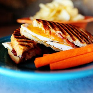 Chicken Bacon Ranch Panini