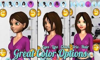 Screenshot of Make Up Games: Princess 3D Pro