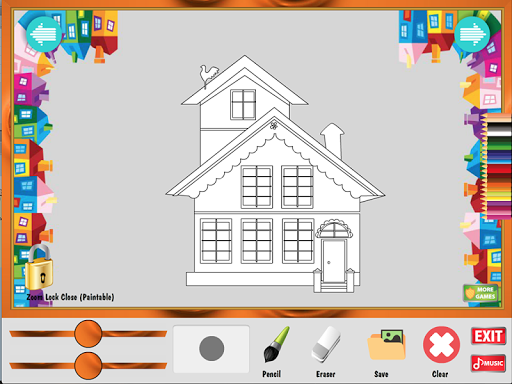 塗色遊戲:我的家|玩教育App免費|玩APPs