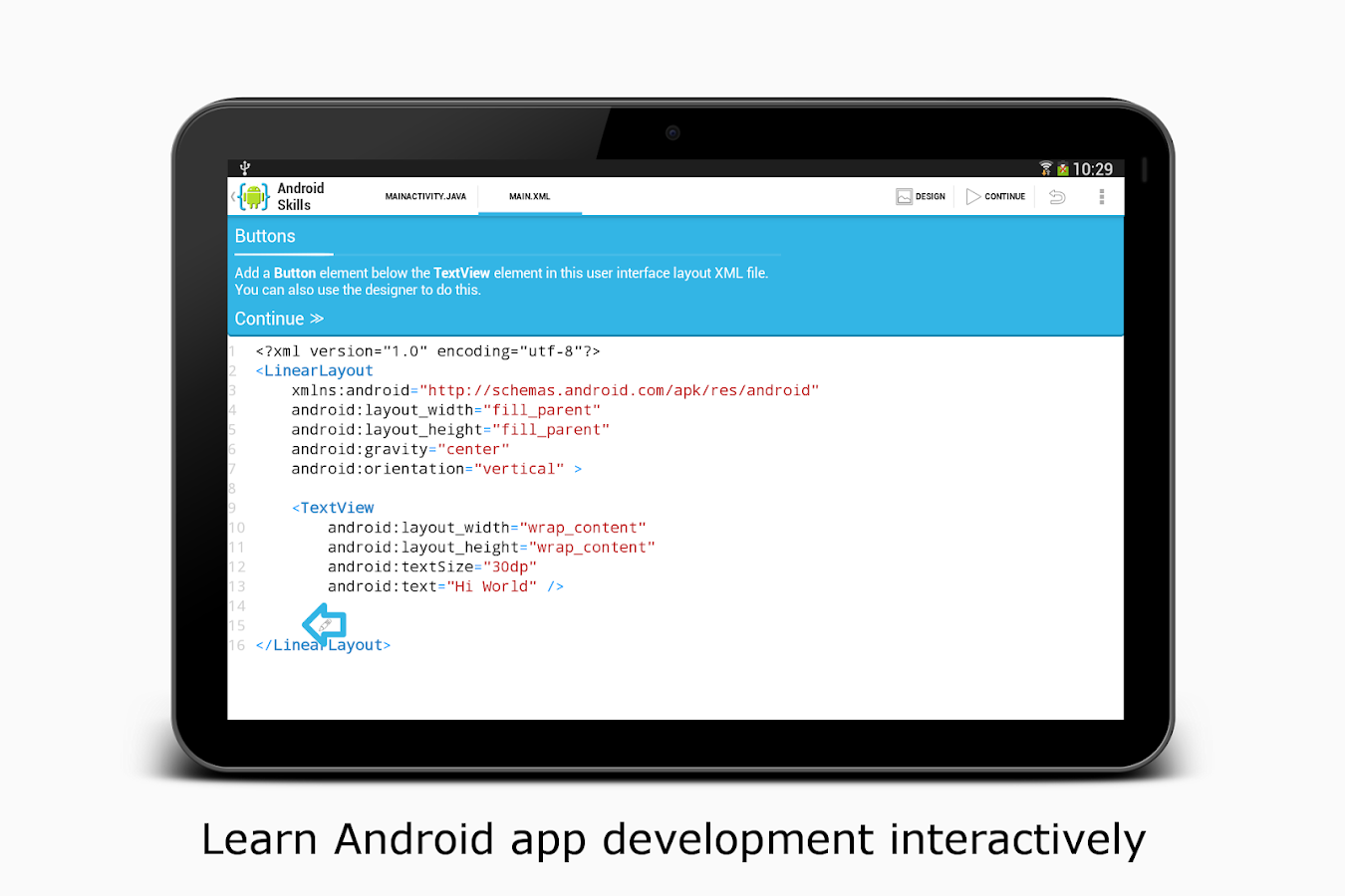 AIDE- IDE for Android Java C++ – Screenshot