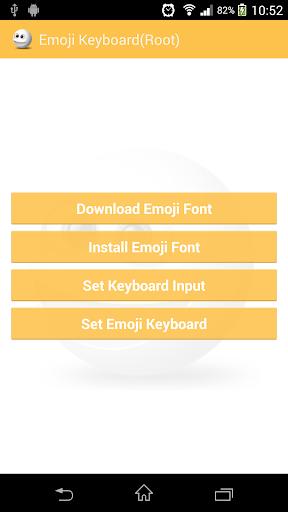 Emoji Keyboard Root