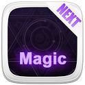 Next Launcher Theme  3D Magic icon