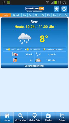 Wetter App Schweiz - wetter.tv