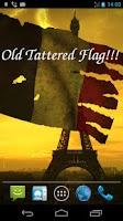 Screenshot of 3D France Flag Live Wallpaper