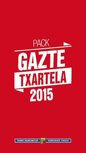 PACK GAZTE TXARTELA 2015