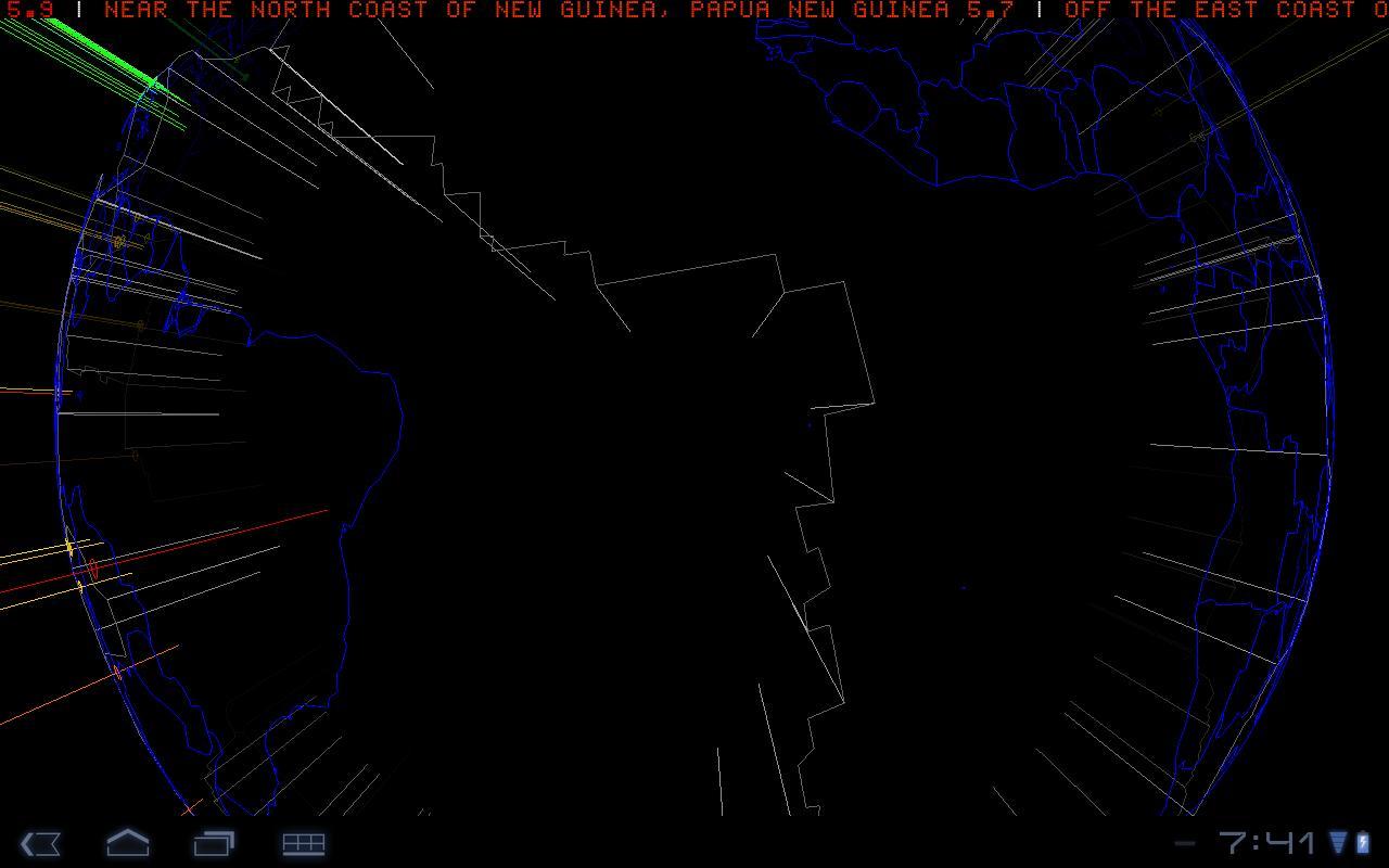 3D Earthquake- screenshot