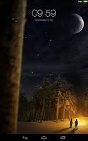 Screenshot of Firefly Live Lock Screen