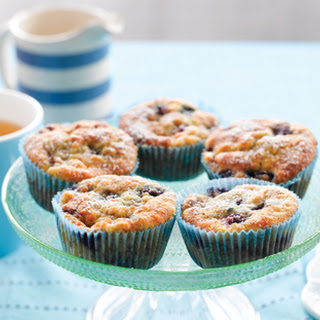 Banana, Blueberry And Coconut Muffins.